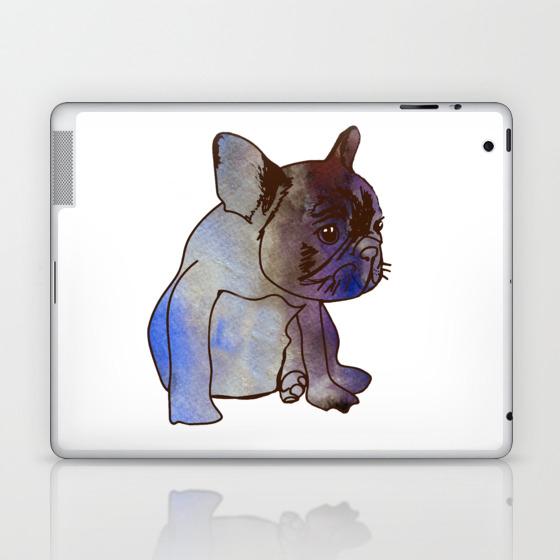 French Bulldog Puppy Cute Baby Dog Laptop Ipad Skin By Manitarka Society6