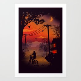 Ride Home Art Print