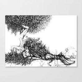 Natural Love Canvas Print