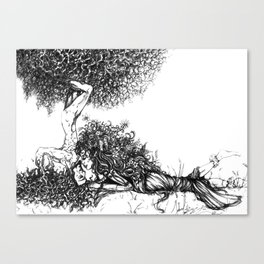 Natural Love Canvas Print