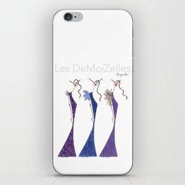 LES VIOLETTES iPhone Skin