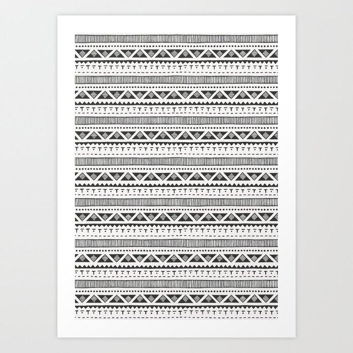 TRIBAL Art Print