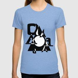 All A's Font T-shirt