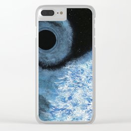 Quantum Lock Clear iPhone Case