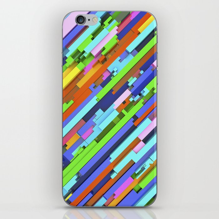 NeonGlitch 3.0 iPhone Skin