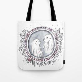 3 little bears Tote Bag