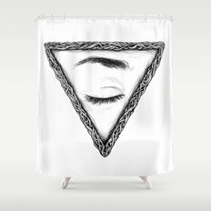 Sleep Shower Curtain