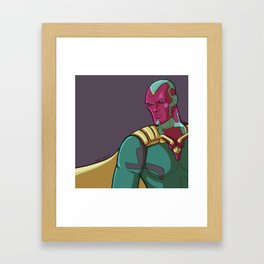 Vision from the MCU Framed Art Print