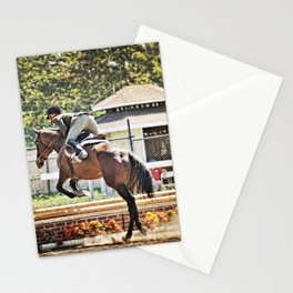 Equestrian love Stationery Cards