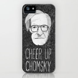 Cheer Up Chomsky iPhone Case