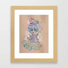 Spooky Little Cutie Framed Art Print