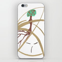 "Mr. ""Tree in hat!"" iPhone Skin"