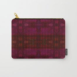 Patterns II Red Carry-All Pouch