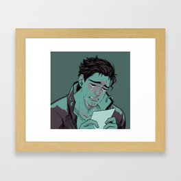 we keep this love in a photograph Framed Art Print
