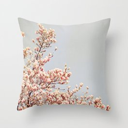 Magnolia Drive Throw Pillow