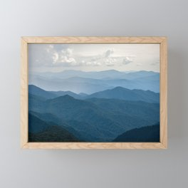 Smoky Mountain National Park Nature Photography Framed Mini Art Print