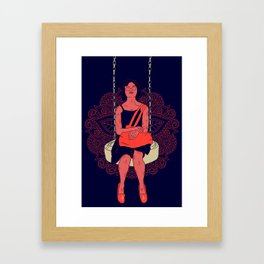 Selfless Portrait das Mina Framed Art Print