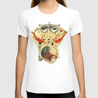 psychology T-shirts featuring Mystical uterus by Laura Nadeszhda