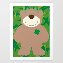 WE♥BEARS Art Print
