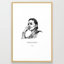 Georgia O'Keeffe Framed Art Print
