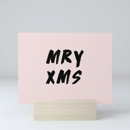 Merry Christmas 2017 Mini Art Print