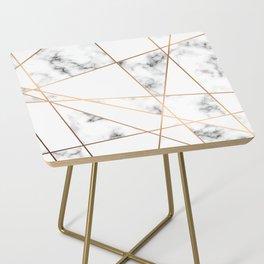 Marble Geometry 054 Side Table