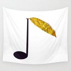 Natural Music Wall Tapestry
