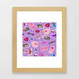 Girl things II Framed Art Print
