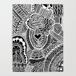 Love Doodle Poster