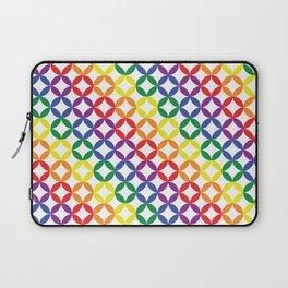 Rainbow Diamonds Laptop Sleeve