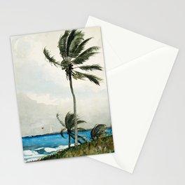 Palm Tree, Nassau Wislow Homer 1898 Stationery Cards