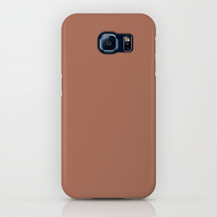 Sherwin Williams Color of the Year 2019 Cavern Clay SW 7701 Solid Color iPhone Case