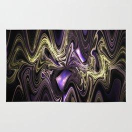Surreal wavy fractal Rug