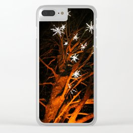 stars in the tree Clear iPhone Case