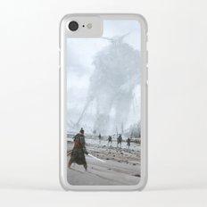 stranger in a strange land Clear iPhone Case