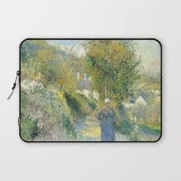 """Camille Pissarro """"Chemin de Pontoise, Auvers-sur-Oise"""" Laptop Sleeve"""