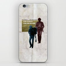 I AM A ROCK iPhone & iPod Skin