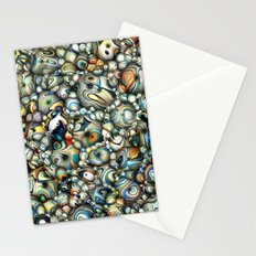 Colorful 3D Abstract Stationery Cards