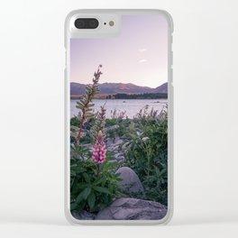 Lake Tekapo Clear iPhone Case