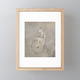 penny farthing Framed Mini Art Print