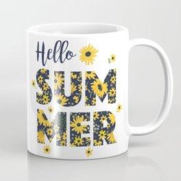 Sunflower poster Coffee Mug