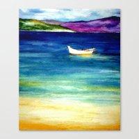 jamaica Canvas Prints featuring Jamaica by Brazen Edwards