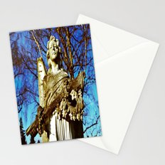 Cemetery angel Stationery Cards