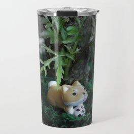 Shiba Inu Jungle 2 Travel Mug