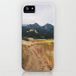 Golden Malibu iPhone Case