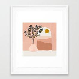 lemon tree Framed Art Print