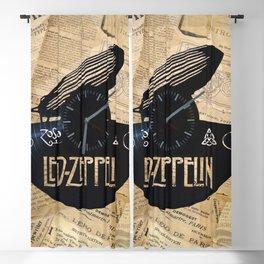 Black Zeppelin Blackout Curtain