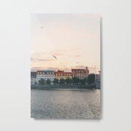 Danish Sunset Metal Print