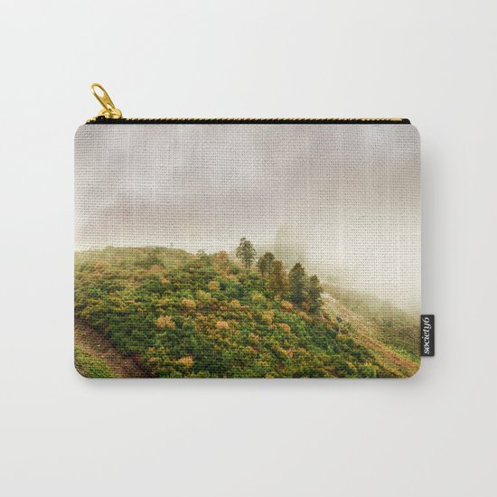 Autumn valley in the cloud Carry-All Pouch