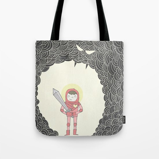 Strong Warrior Tote Bag
